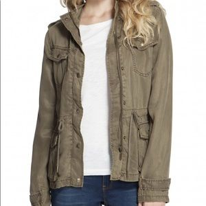 NWTs MAX JEANS • Utility Olive Anorak Jacket